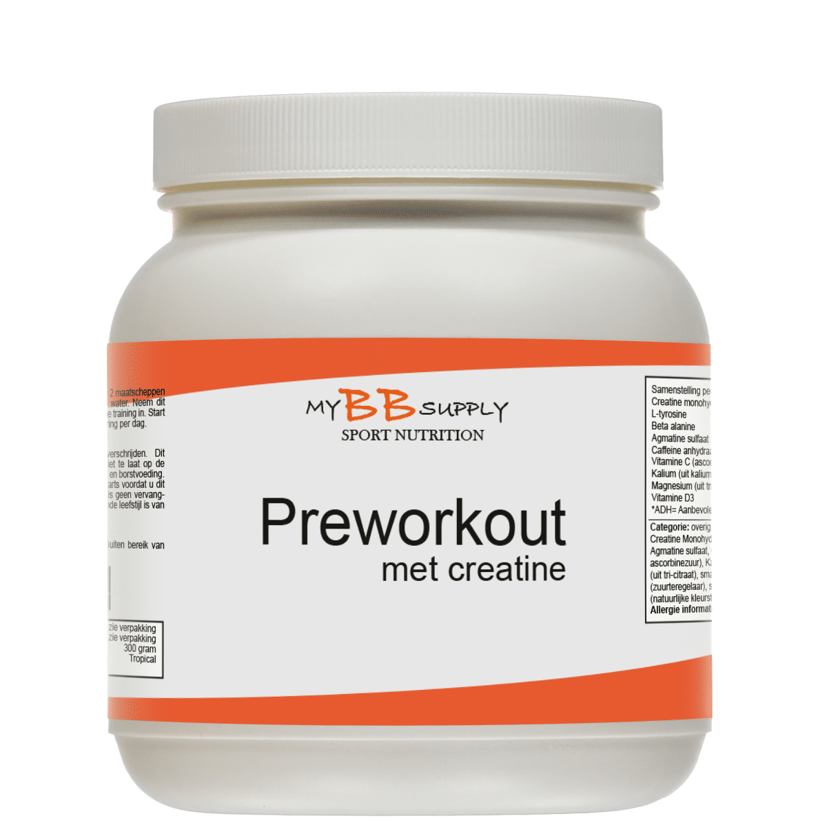 MyBBSupply Preworkout Creatine